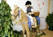 Sterntaler-Pferd grüsst