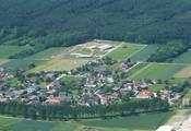 Vogelperspektive + Dorf